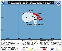 Hurricane Lane map