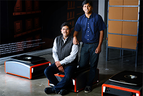 Samay Kohli and Akash Gupta, Co-Founders of GreyOrange