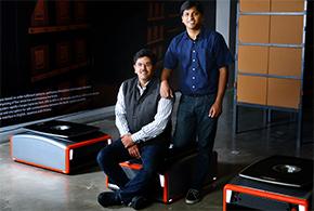 Samay Kohli and Akash Gupta, Co-Founders of GreyOrange