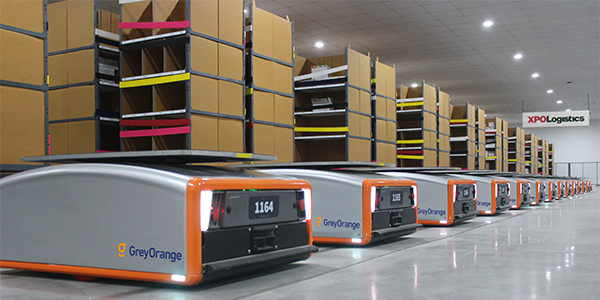 XPO to deploy 5,000 GreyOrange robots for e-commerce fulfillment