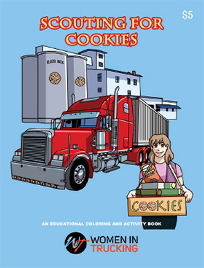 Book cover: Scouting for Cookies