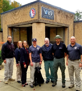 Cargo Screening K9 Alliance team