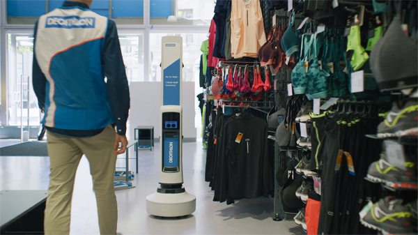 Decathlon USA deploys mobile robot to retail store