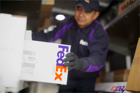 FedEx delivery man