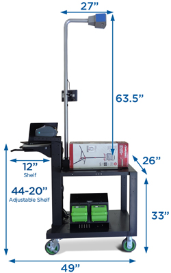 New Castle Atlas mobile dimensioning station