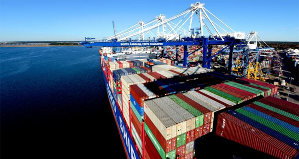 South Carolina Ports Authority marks 6.4 percent container volume growth for 2018
