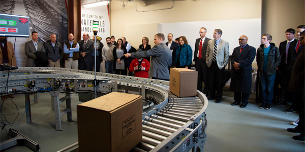 Hytrol, Arkansas State partner for material handling research
