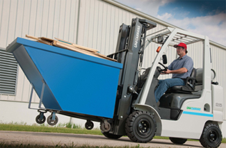 UniCarriers Nomad lift truck