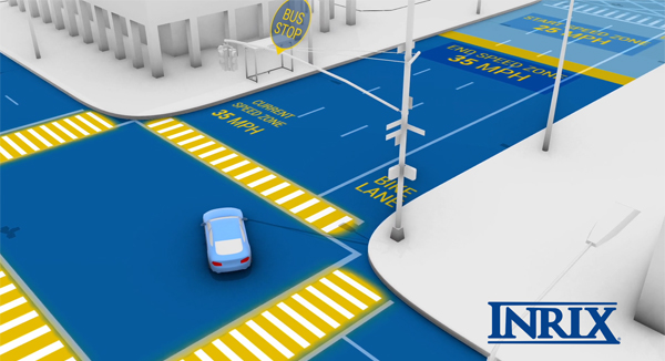 You've heard of street smarts. How about smart streets?