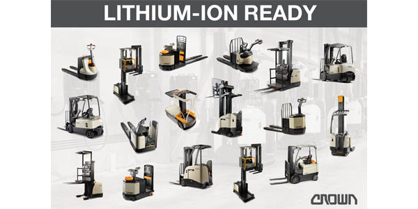 Crown Equipment Intros Alternative Energy System For Forklifts 2019 03 20 Dc Velocity