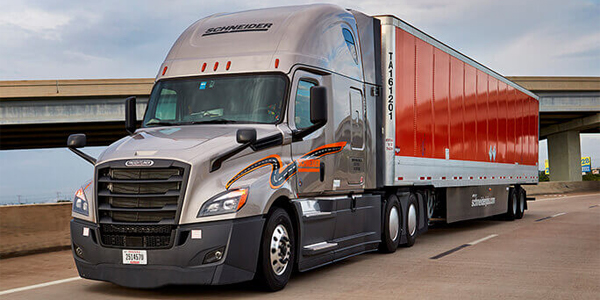 Schneider expands middle-mile services