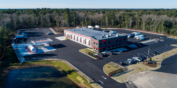 Ryder opens Norton, Mass., maintenance facility