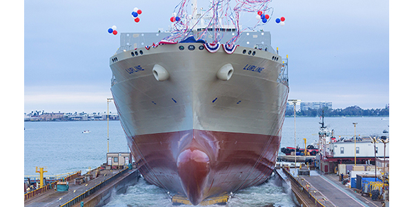 "Matson welcomes largest ""con-ro"" ship"