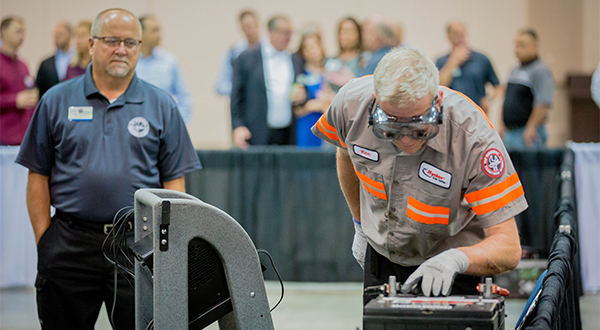 Mechanics strut their stuff at annual Ryder competition