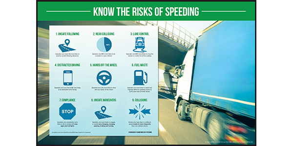 Police screen for speeding trucks in summer safety push