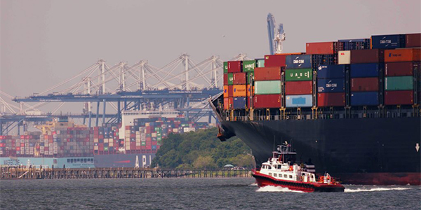 Cargo volume up nearly 9% in South Carolina