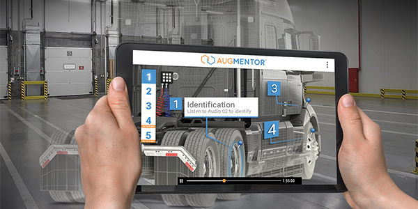 AR tool lets mechanics hone their skills on virtual trucks