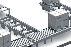 Lenze smart motor conveyor