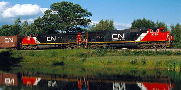CN buys New York state rail line from CSX to broaden reach between Canada and U.S.