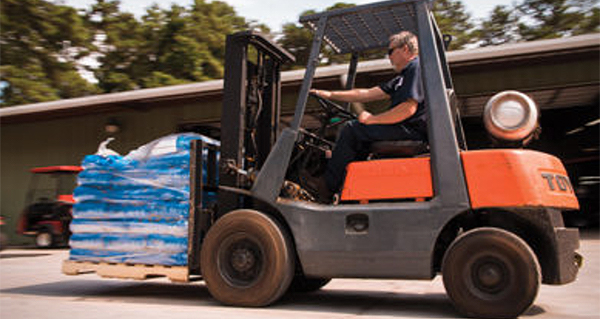 Video series testifies for propane-powered forklifts