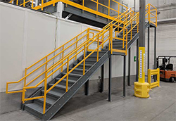 Panel Built industrial stairs