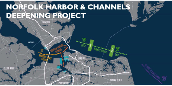 Port of Virginia launches dredging project to attract ultra-large container vessels