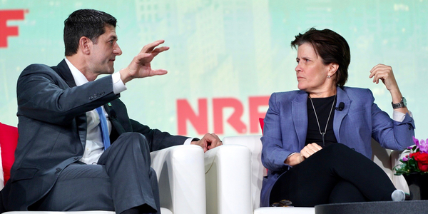 """Calmer waters"" in trade wars could boost economy in 2020, Paul Ryan says"