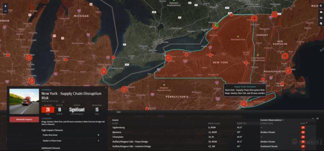 ALAN riskpulse map