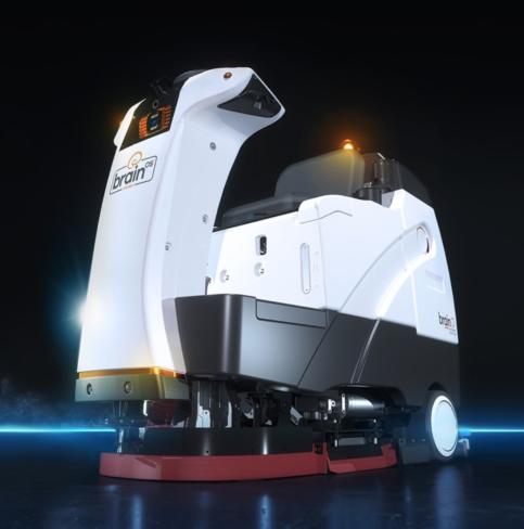 brain corp AMR robot