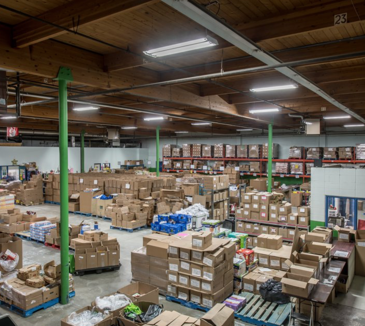 warehouse food bank