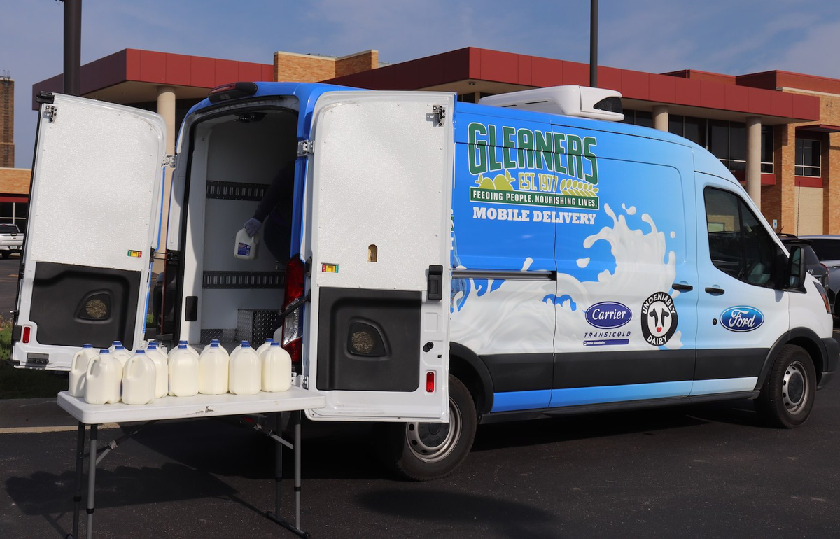 Gleaners milk van