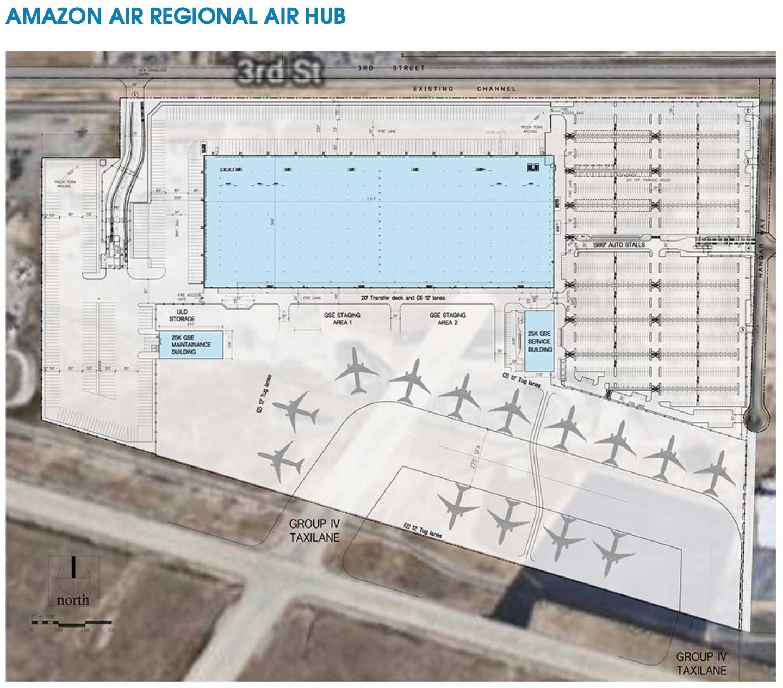 amazon san Bernadino airport