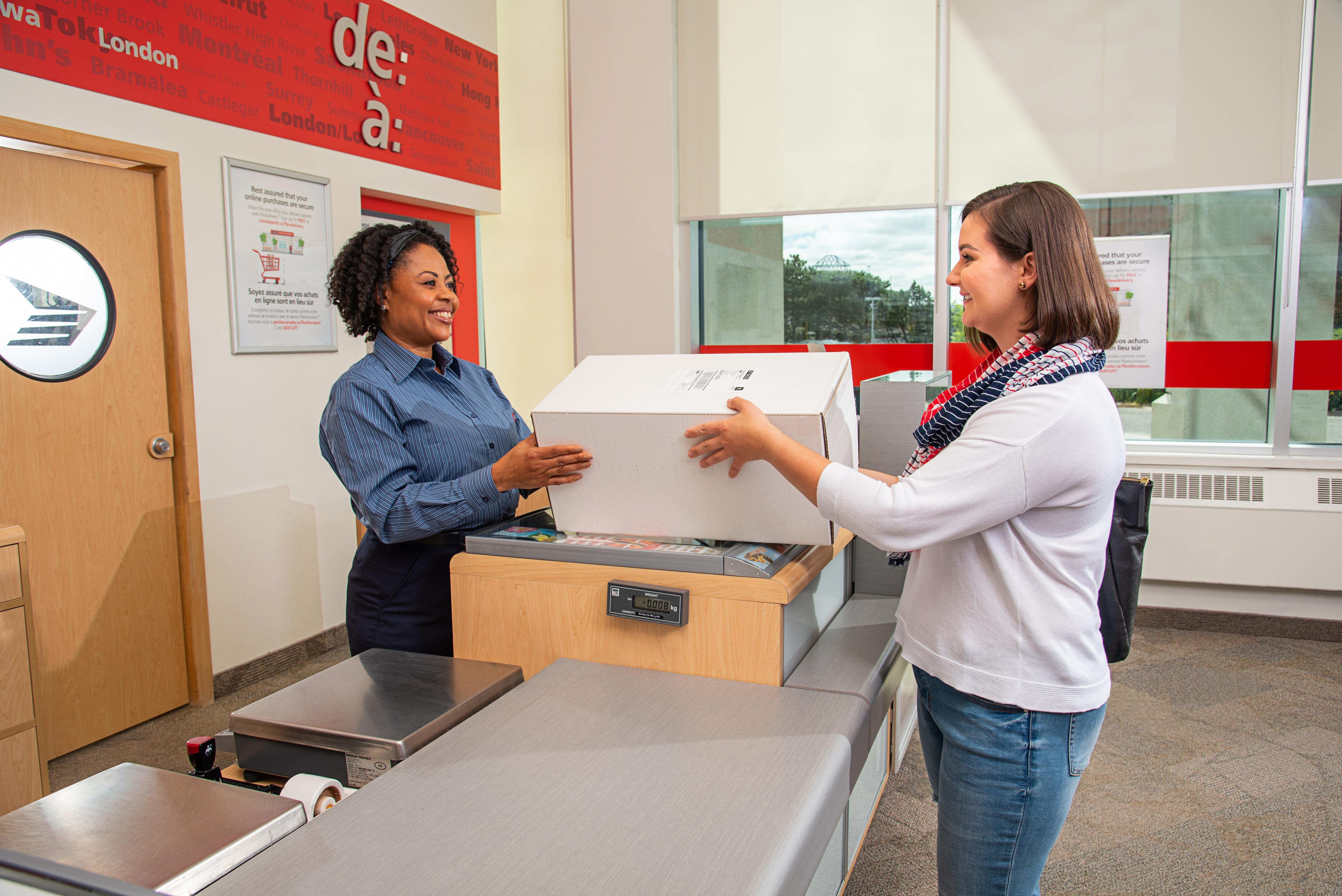 canada post parcels