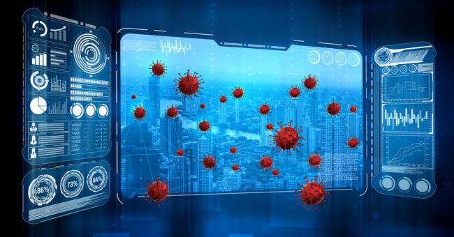 Coronavirus inside computers
