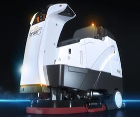 Brain Corp. floor-cleaning robot