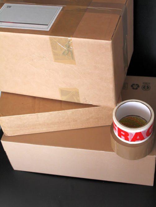 parcels boxes generic