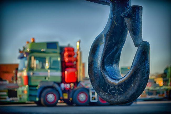 tow truck hook Convoy