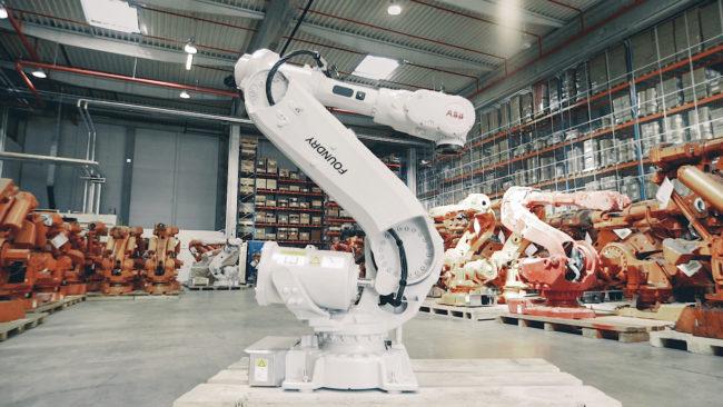 ABB rehabs robots