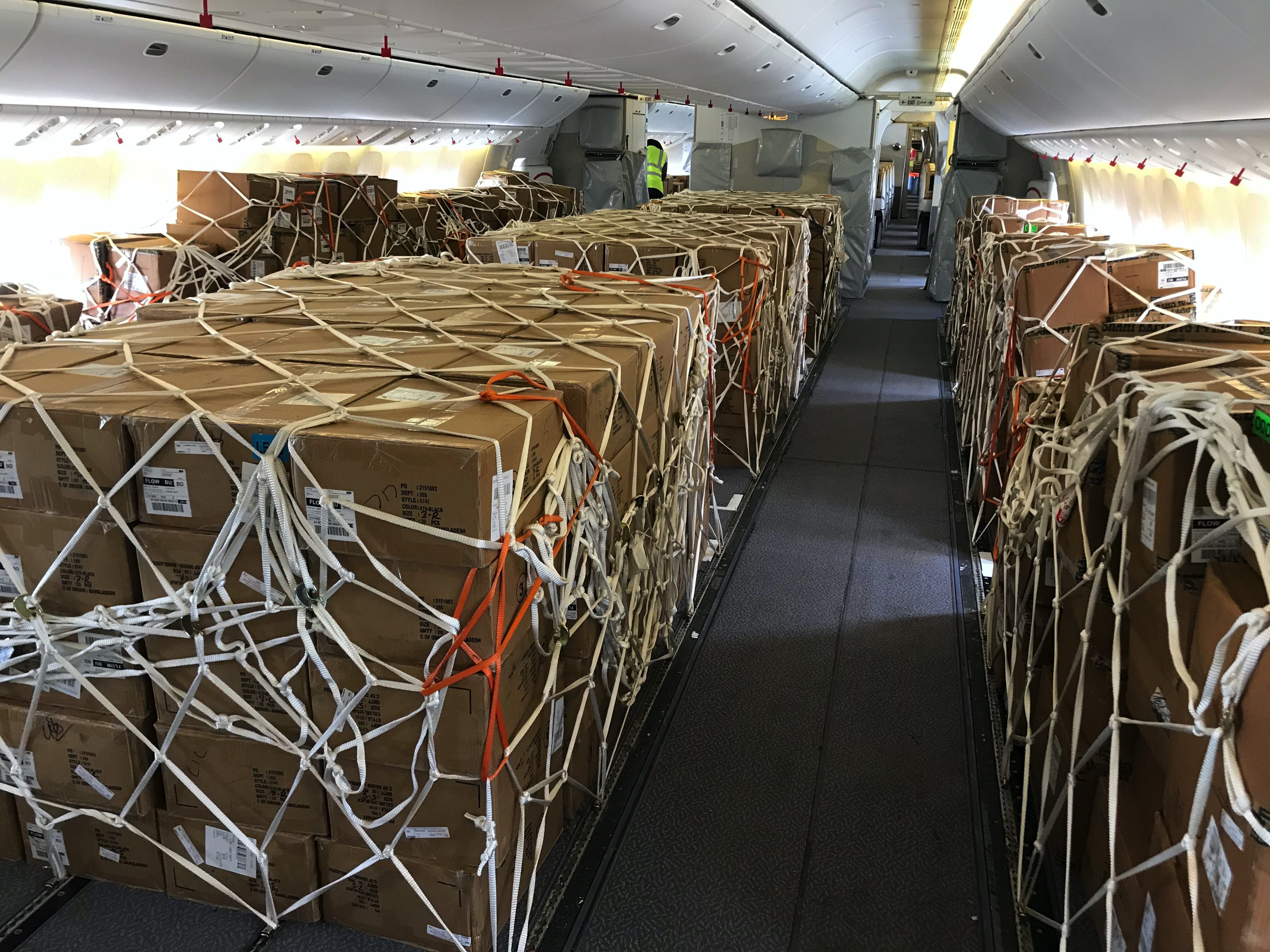 rickenbacker air freight