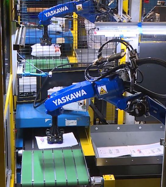 Fedex robotic arm 7