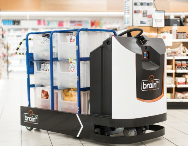 brain corp grocery robot