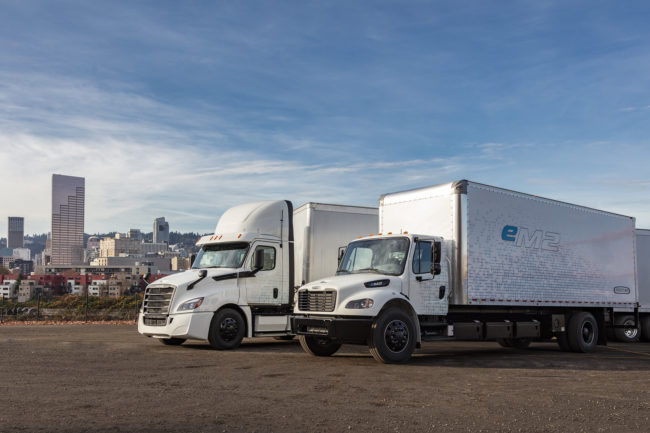 daimler electric truck fleet