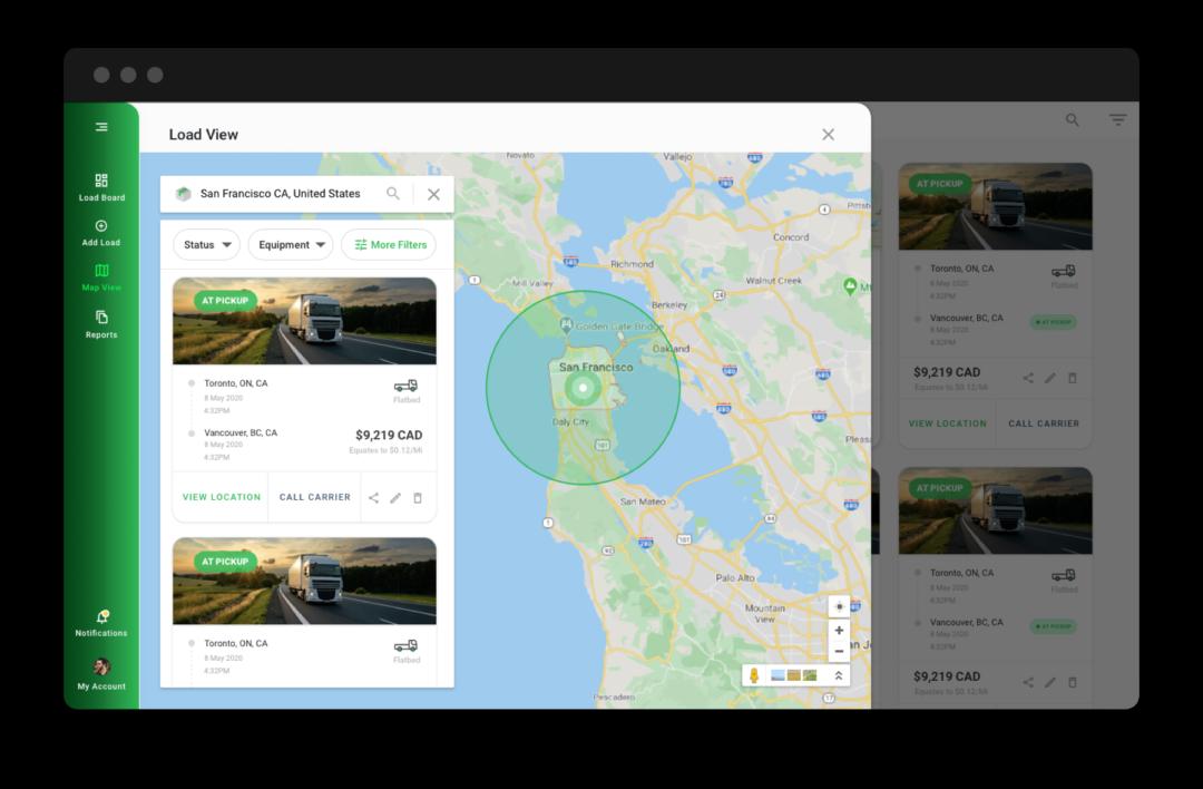 fleetops startup screen shot