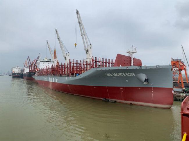 Del Monte ships