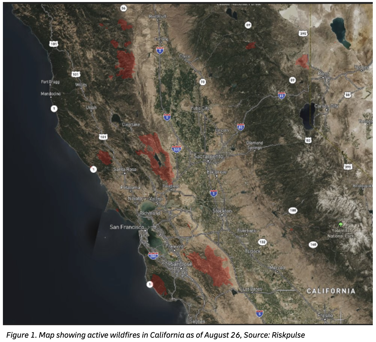 Resilience360 california fires