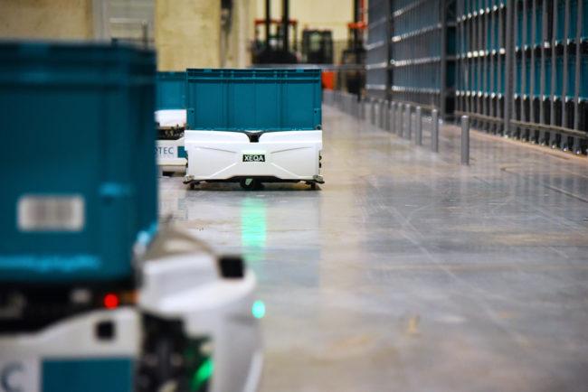 exotec skypond robots
