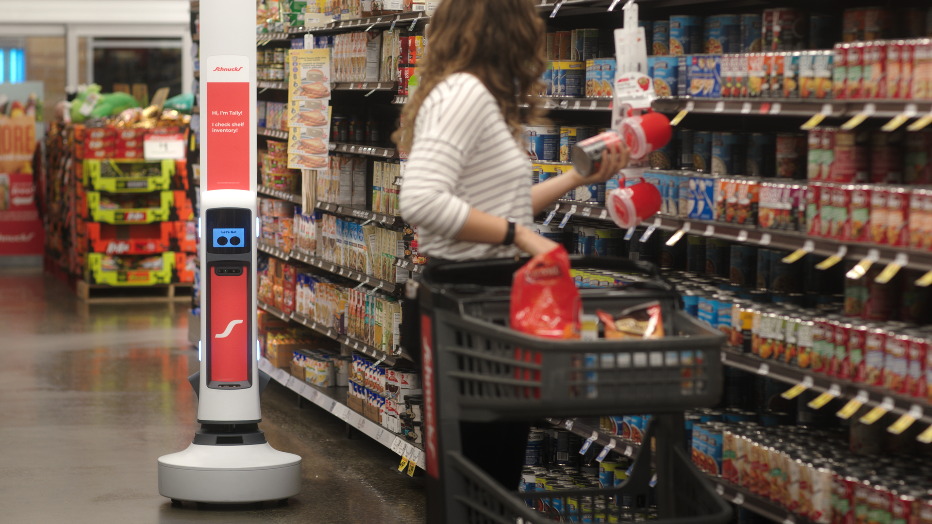 simbe tally robot grocery