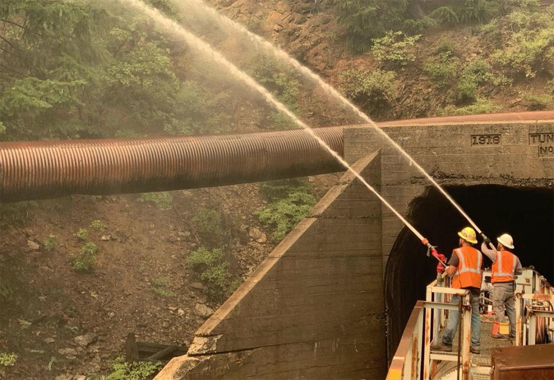 Union Pacific water train