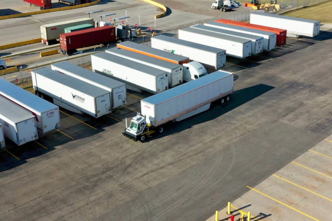 outrider yard trucks