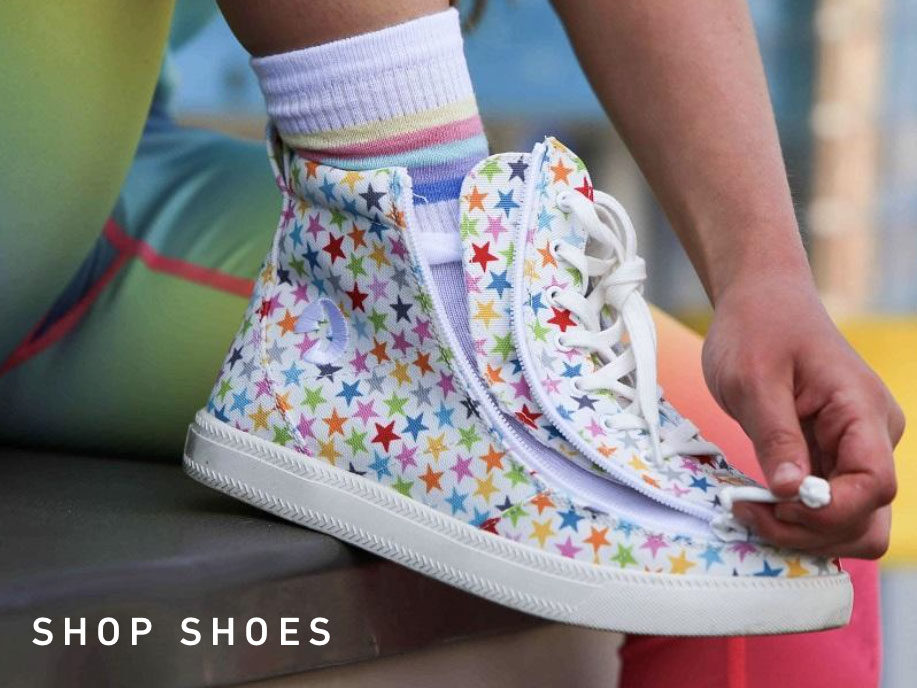 Billy Footwear sneakers with colorful stars